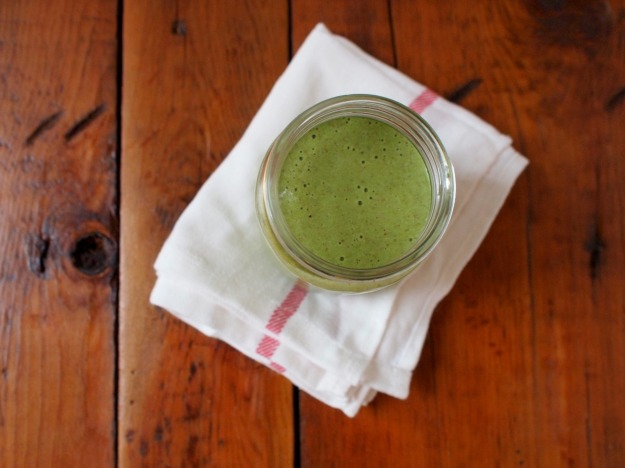 green monkey lactation smoothie | bloom & nourish