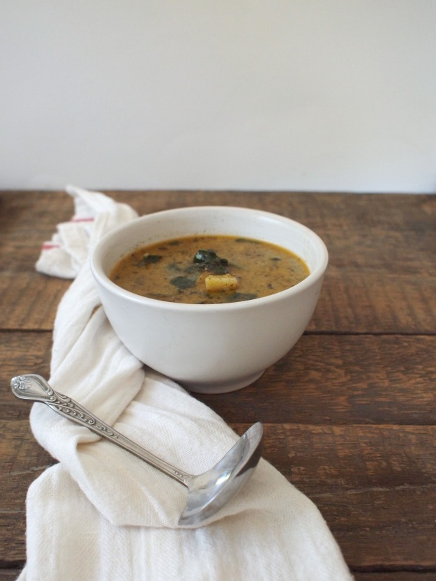 Sausage, Potato, and Kale Soup (Zupa Toscana) | Bloom & Nourish