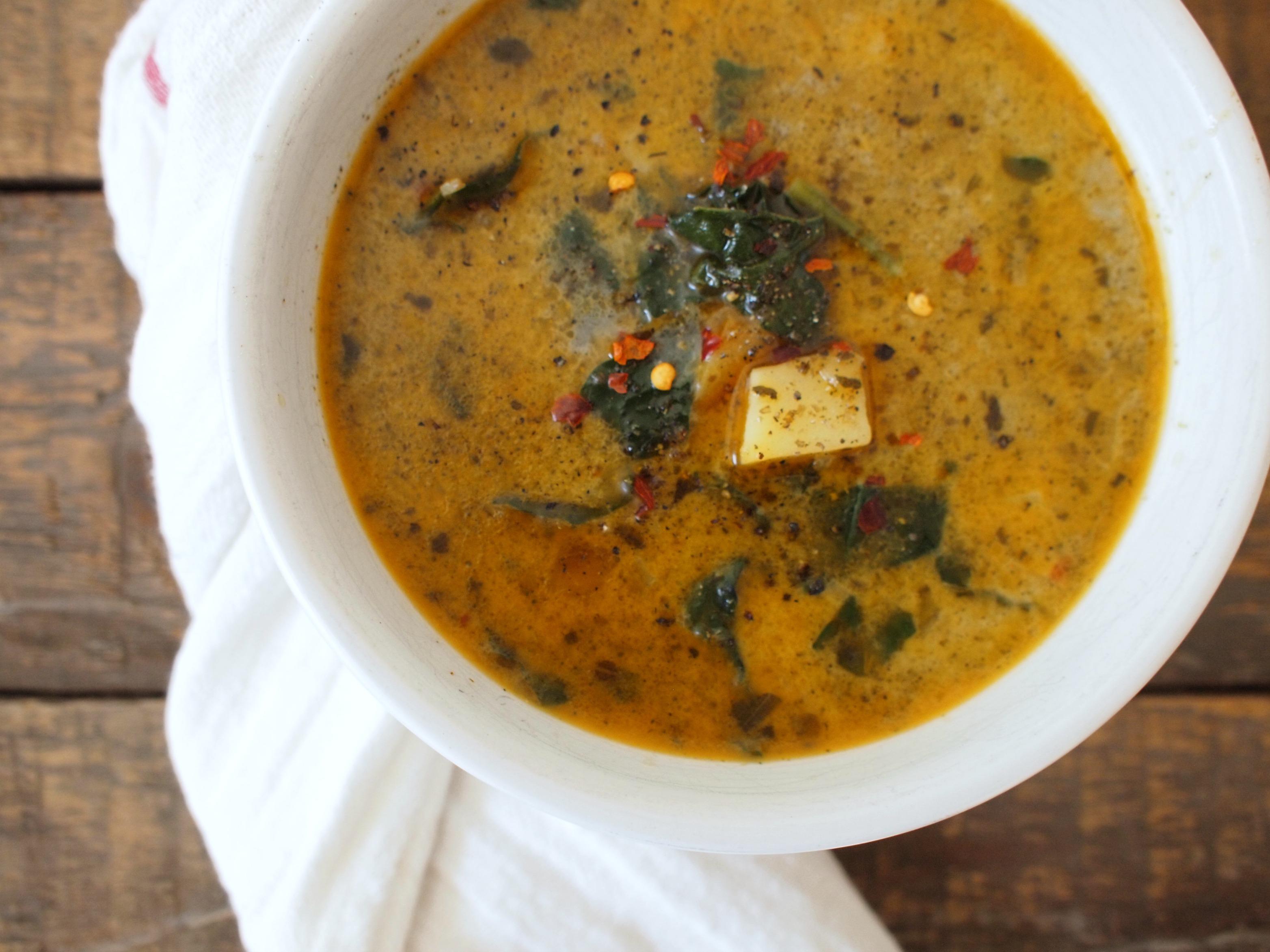Sausage, Potato, and Kale Soup | Bloom & Nourish
