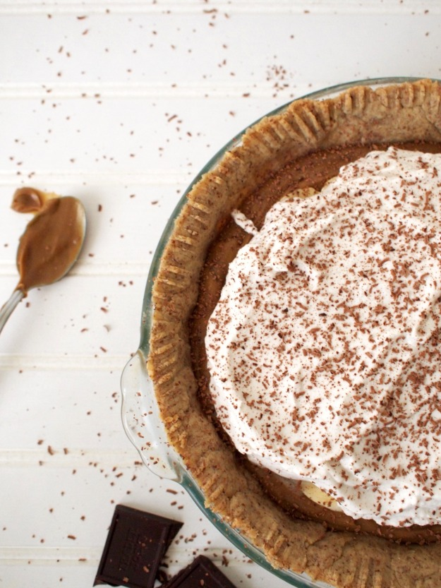 banoffee pie (gluten free, dairy free)| bloom & nourish