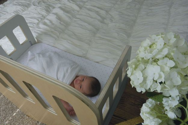 Modern Co-Sleeper | Modern Arks + Bloom & Nourish #giveaway