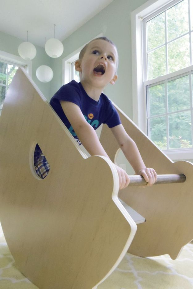 Modern Rocking Boat | Modern Arks + Bloom & Nourish #giveaway